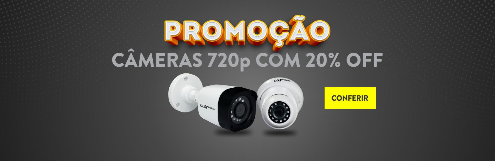 Banner promo câmera