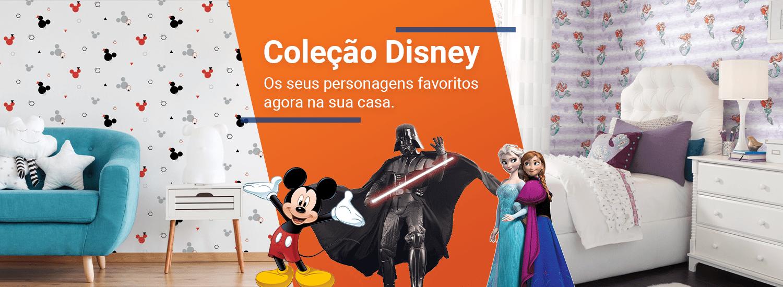 Papel de Parede Coleção Disney