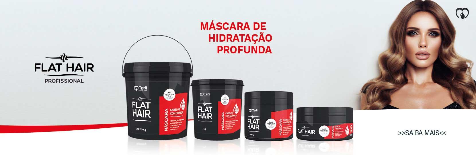 Flat Hair Mascaras Profissionais