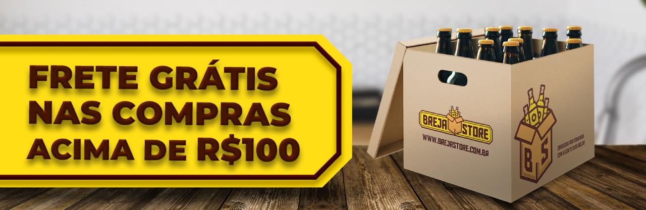 Frete 100 reais