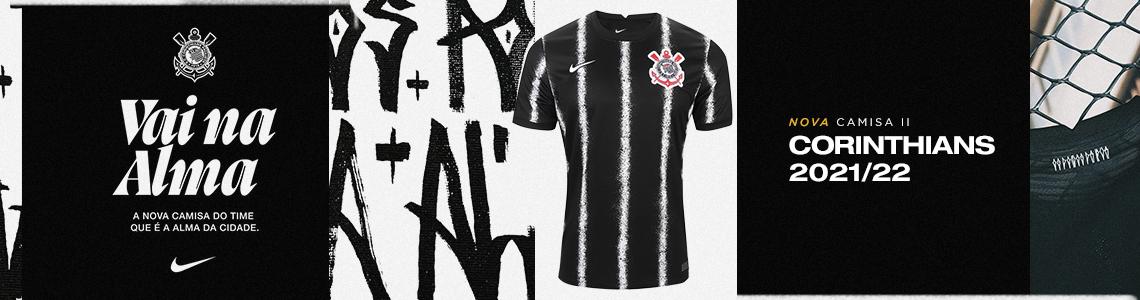 Banner camisa nova Corinthians