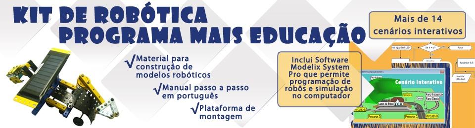 Kit de Robótica Mais Educação