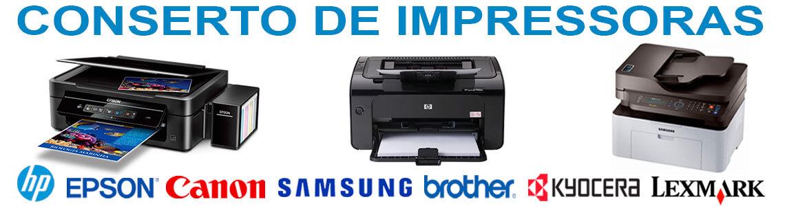 Conserto de impressoras e notes