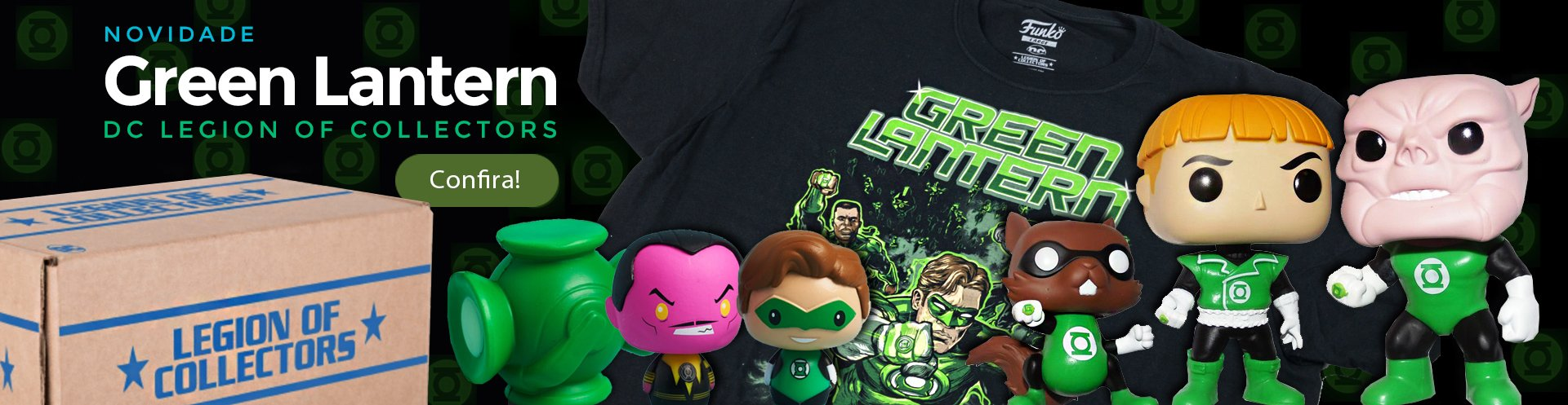 Box Green Lantern