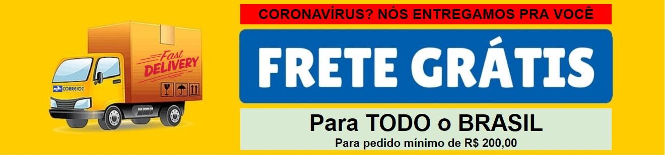Frete Gratis coronavirus