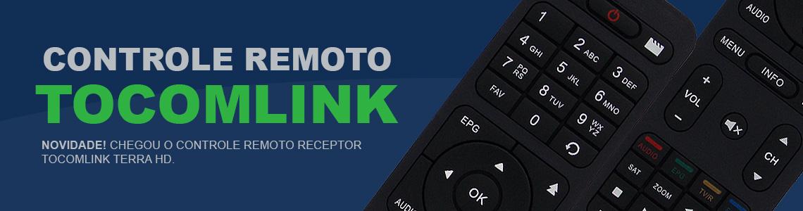 Controle Remoto Tocomlink