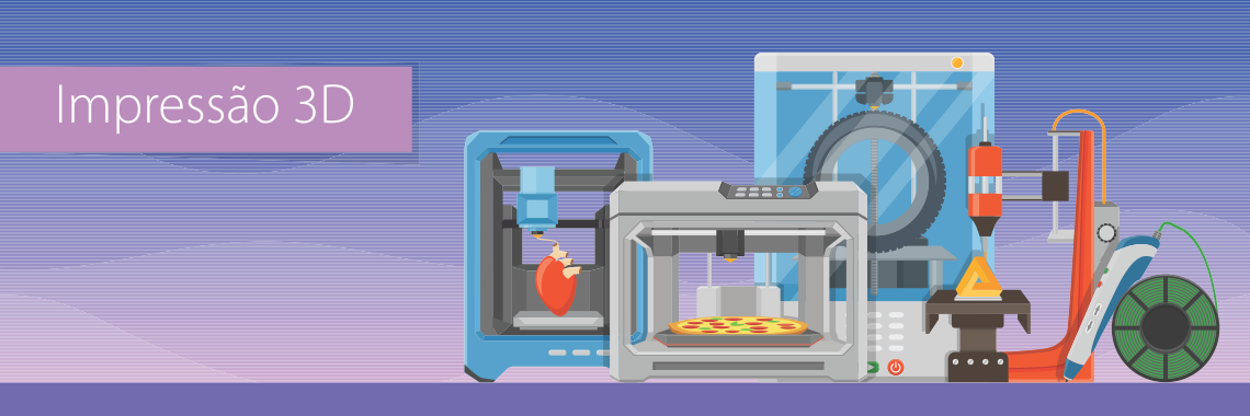 Banner Impressão 3D