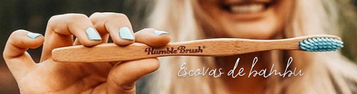 Escovas de bambu