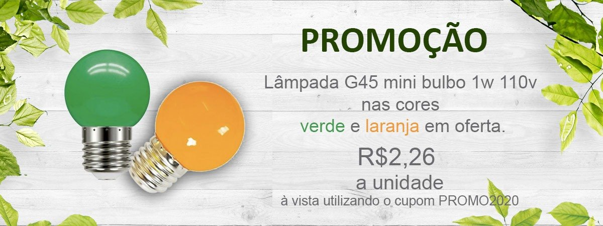promocao mini bulbo