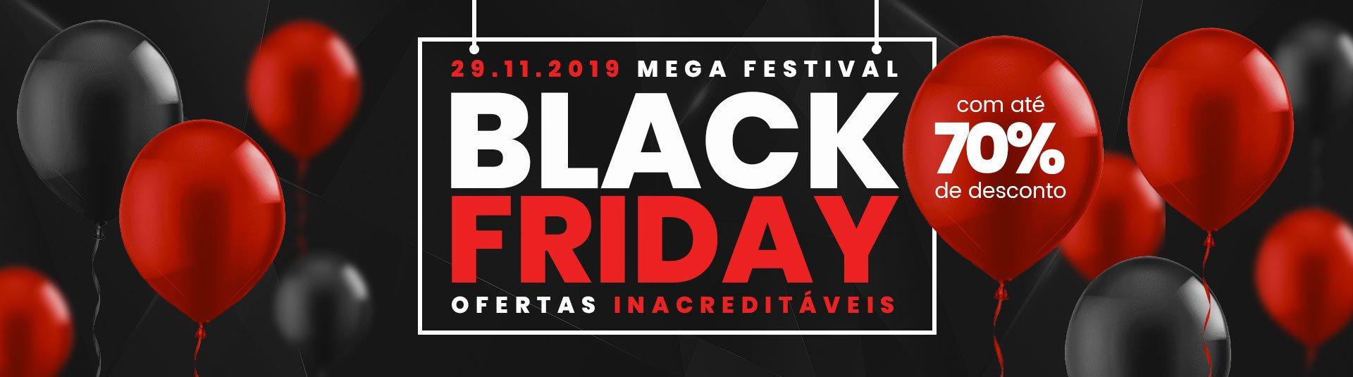 Black Friday Brasil 2019 70% de Desconto