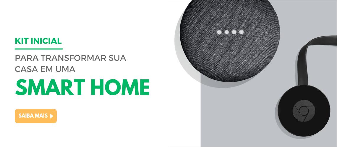 Kit Inicial Google home mini + Chromecasr 2