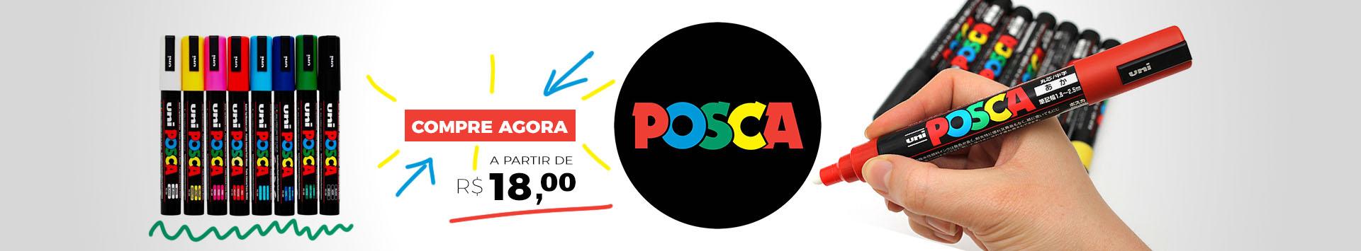 Canetas Posca