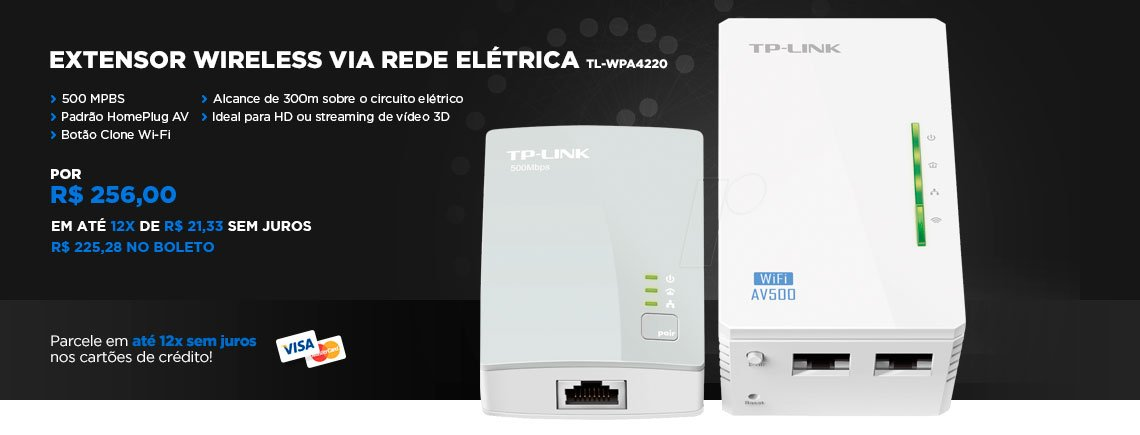 Tp-link Tl-wpa4220 - kit Powerline Extensor