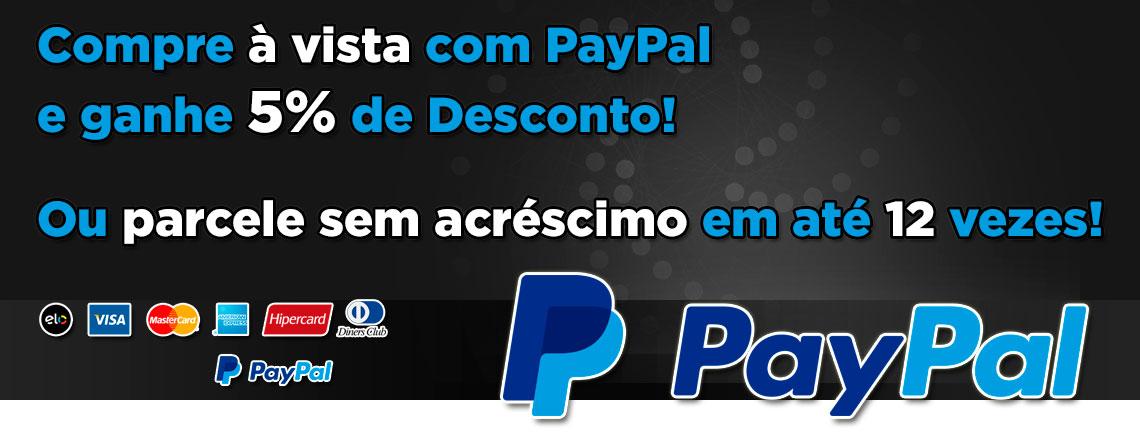 Paypal 5% Desconto