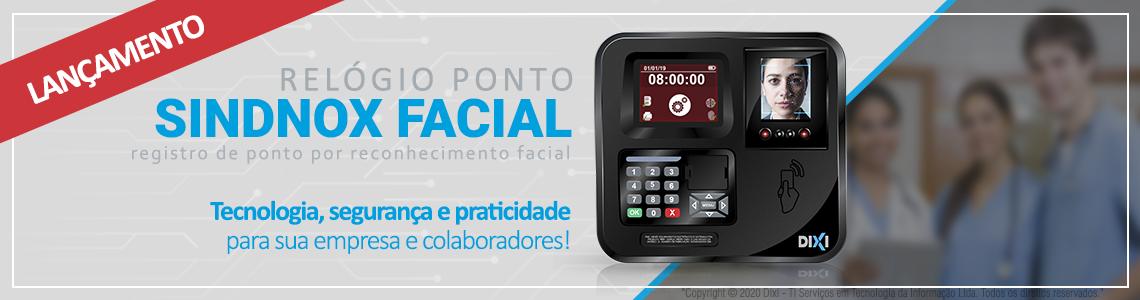 Lançamento relógio de ponto com reconhecimento facial