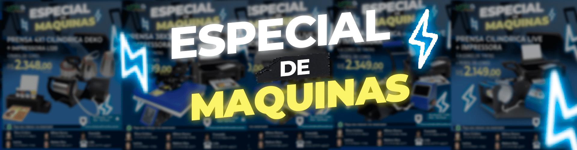 ESPECIAL DE MAQUINAS