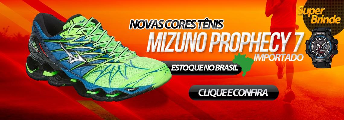 Tênis Mizuno Wave Prophecy 7 + Brinde Relogio G-Shock