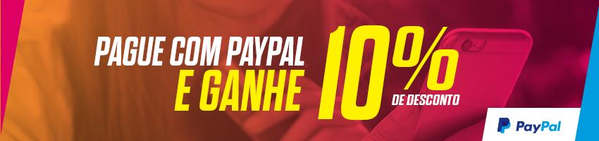 Promoção 10% PayPal