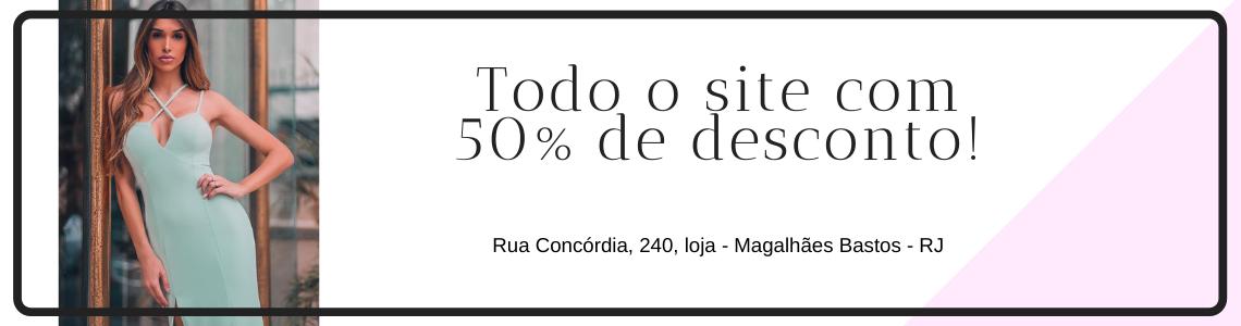 Desconto de 50%