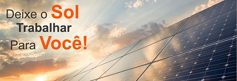 energia solar Goiás dinheiro vem do sol