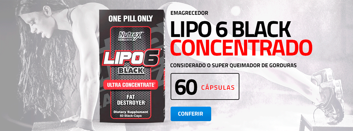 Lipo 6 Black Ultra Concentrado