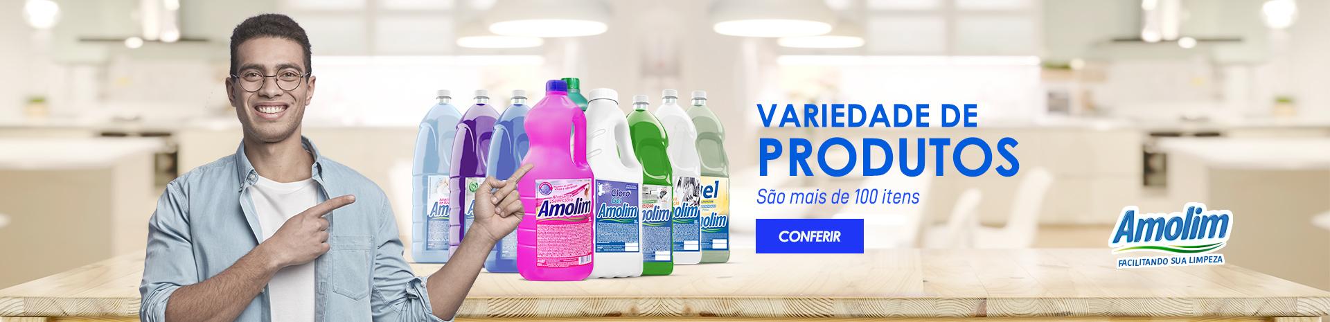 Variedade de produtos