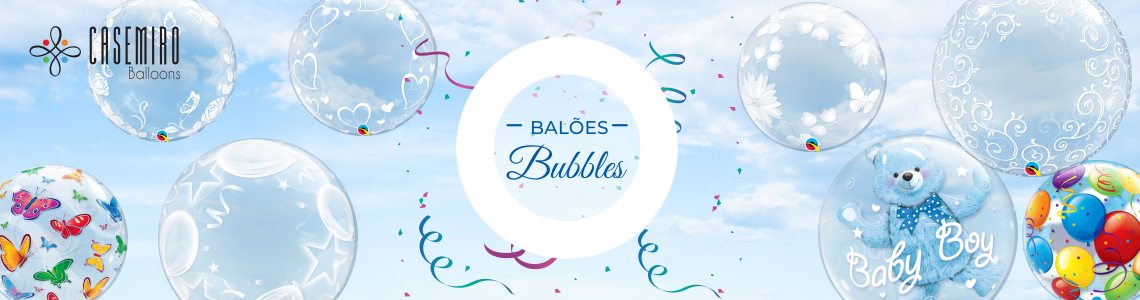 Balões Bubbles Qualatex