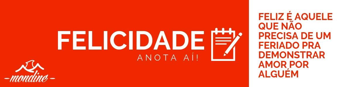 2 BANNER DE UMA BOA CONVERSA, AMOR E FELICIDADE - MONDINE