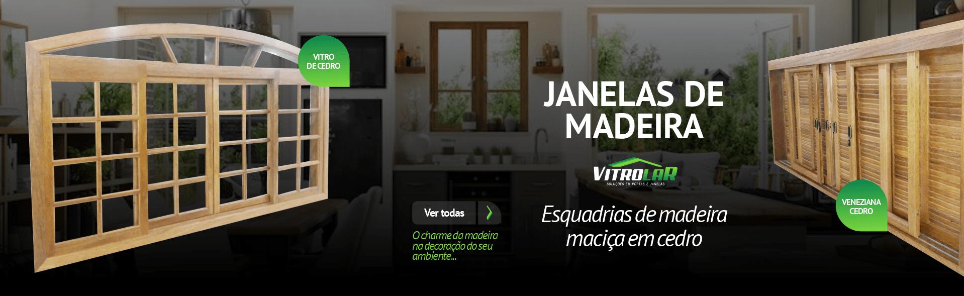 Janelas Madeira