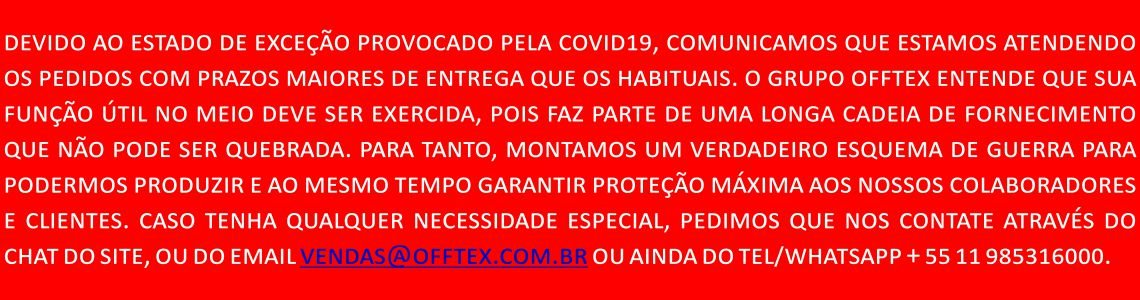 COMUNICADO COVID19 OFFTEX