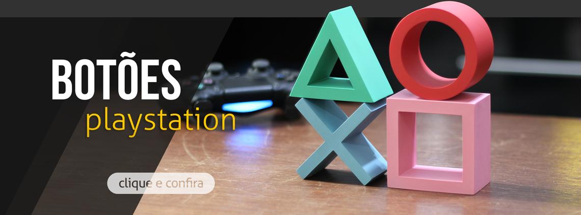 botões playstation