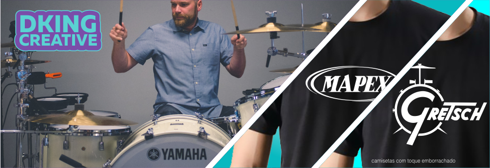 Camisetas bateria Drums t Shirt