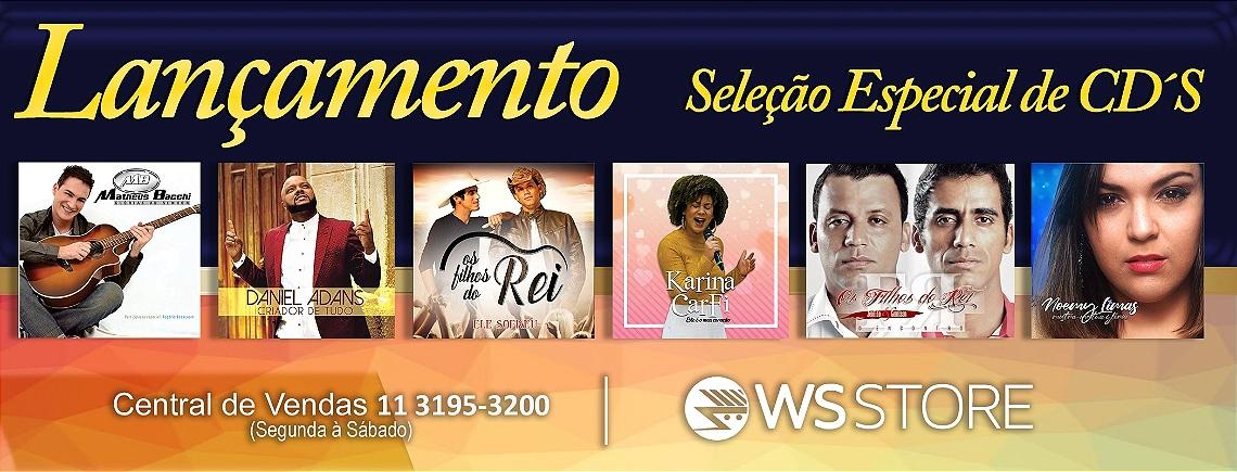 CDs anuncio seleção de cantore