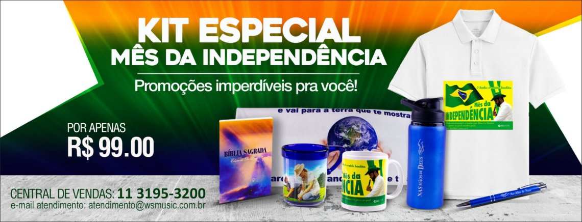Kit Especial Independência