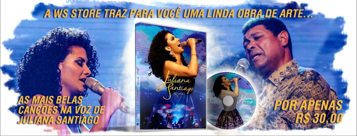Banner DVD - Juliana Santiago AO VIVO
