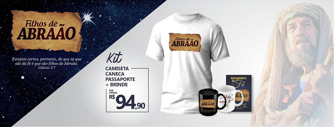 KIT - FILHOS DE ABRAÃO