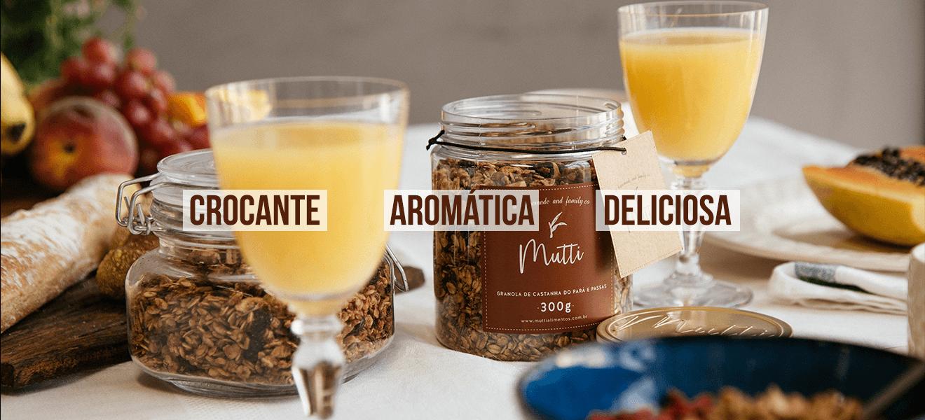 Crocante Aromática Deliciosa