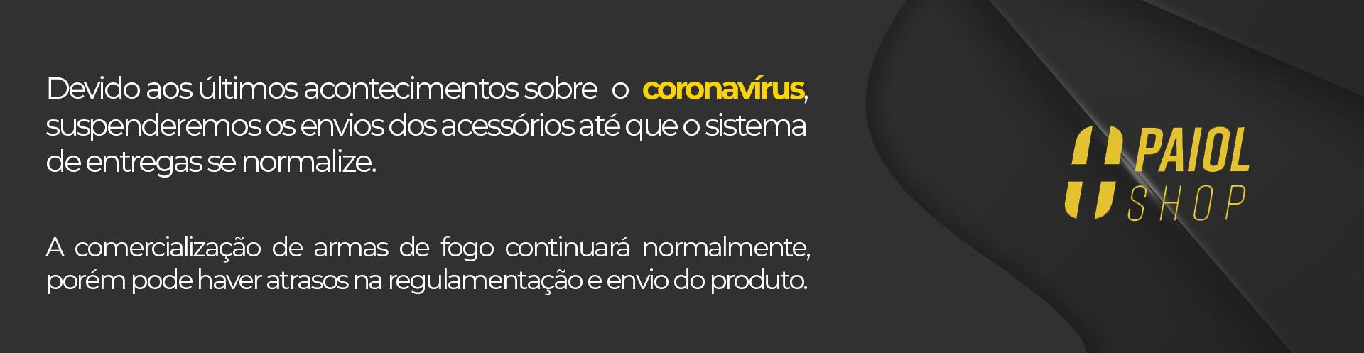 Coronavírus Aviso Novo