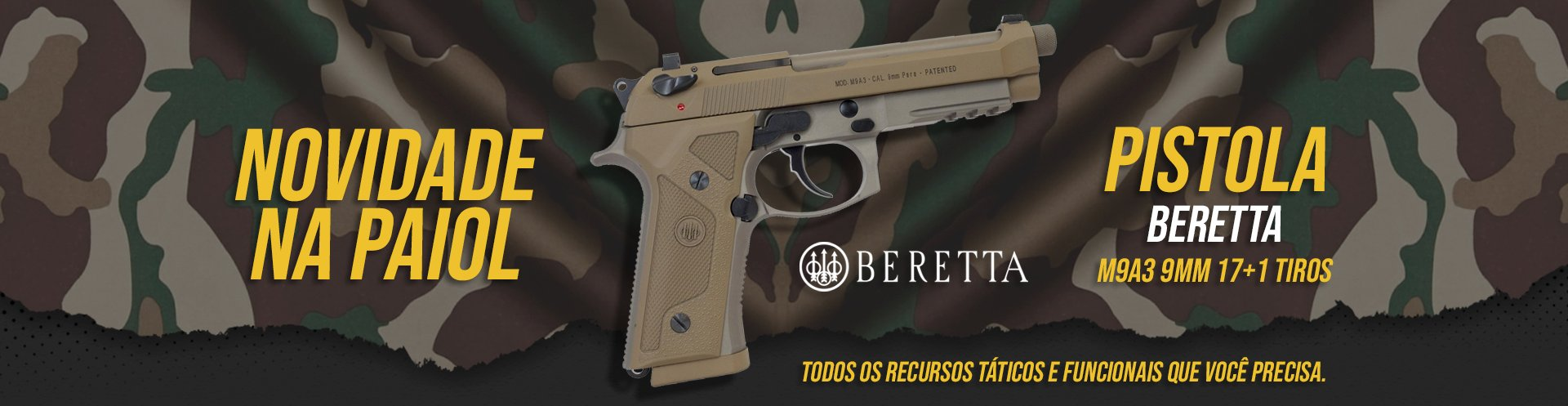 Beretta M9A3 Cal. 9mm