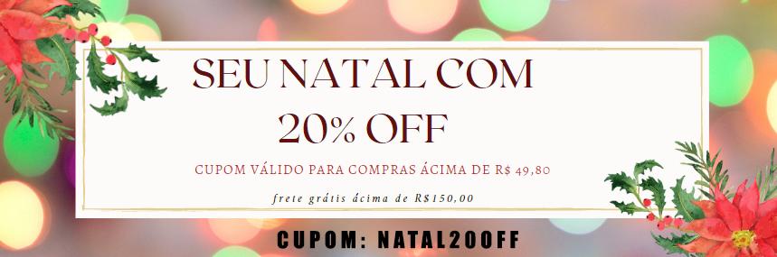 Cupom: NATAL20OFF