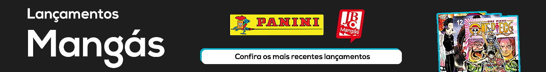 LANÇAMENTOS MANGÁS