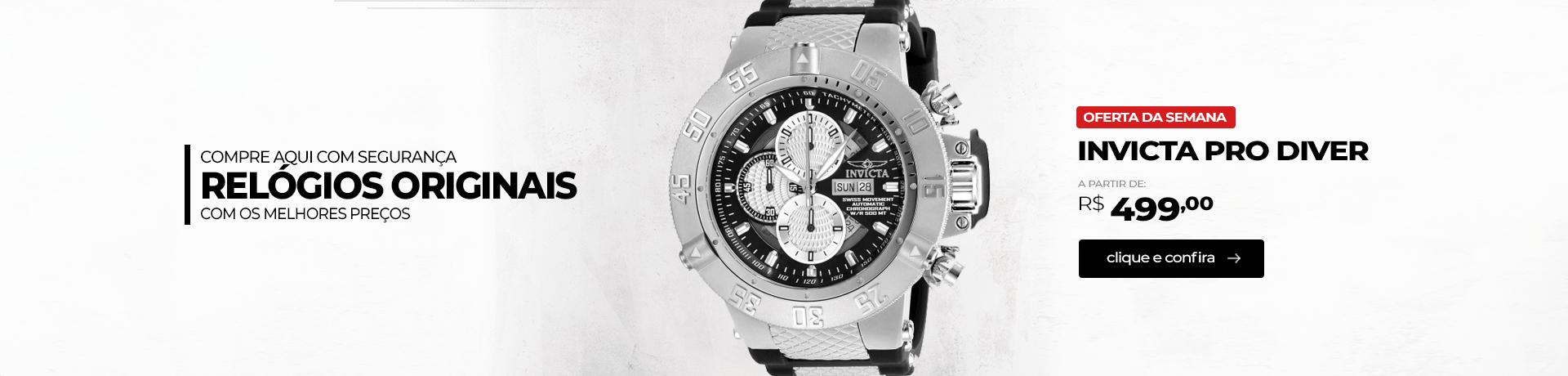 Relógio originais Invicta promoção