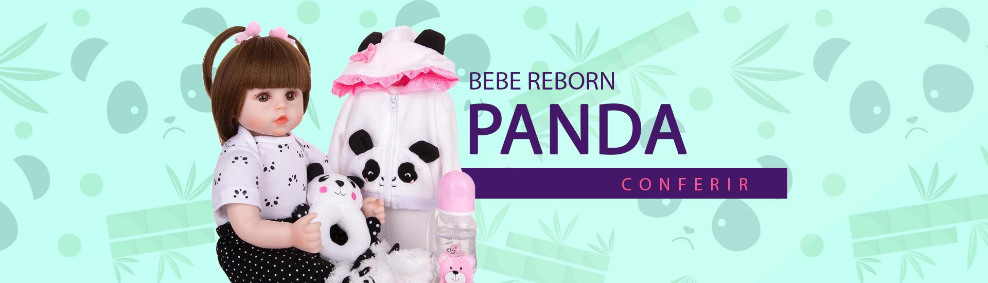 BEBE REBORN PANDA