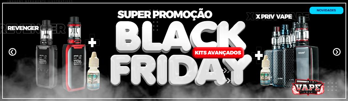 Promoção Black Friday Vapes