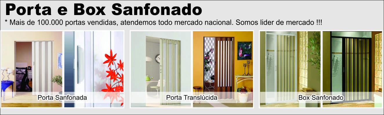 Porta e Box Sanfonado