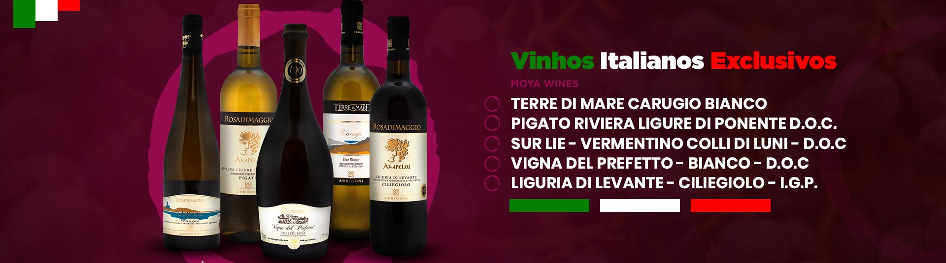 Vinhos Italianos Exclusivos