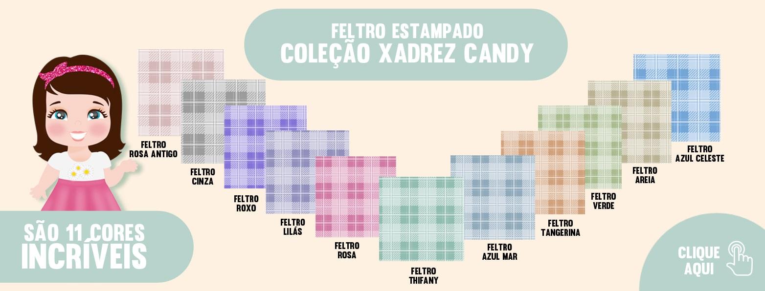 COLEÇÃO XADREZ CANDY