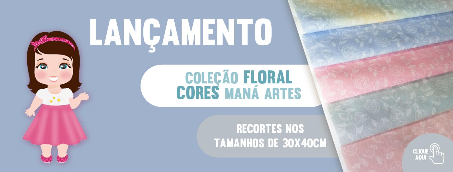 COLEÇÃO FLORAL ARABESCO - FUNDO COLORS