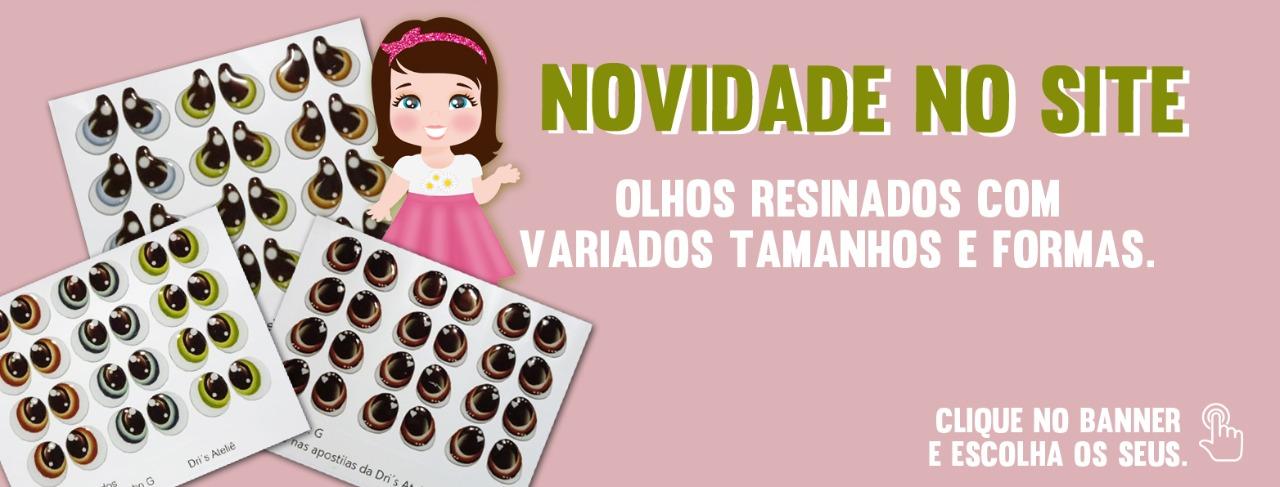 OLHOS RESINADOS