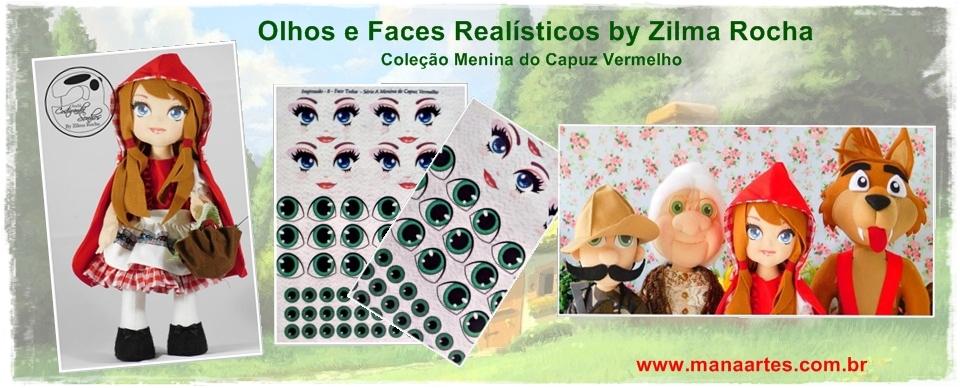 OLHOS CHAPEUZINHO VERMELHO